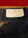 画像3: 1960'S~ DEADSTOCK KEY SADDLE KING 13-3/4 OZ DENIM JEANS/SIZE 30X28