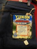 1960'S NOS YUKON FOR ROUGH & TOUGH WEAR JEANS Lot-407/SIZE 30X28