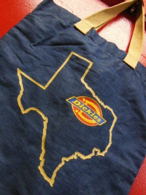 画像2: 1970'S DICKIES DENIM TOTE BAG ビンテージ ディッキーズ デニムトートバック