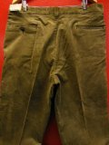 1960'S DEADSTOCK MW POWR HOUSE BROWN CORDUROY WORK TROUSERS SIZE/40X32