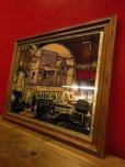 画像1: 1970'S J.C.PENNEY CO. GOLDEN RULE STORE ADVERTISING WOOD FRAMED MIRROR (1)
