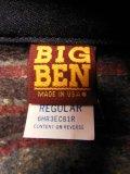 1990'S 米国製 デッドストック BIG BEN BLANKET LINED DENIM COVERALL SIZE/38