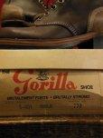画像2: 1960'S DEADSTOCK THE GORILLA SHOE  WORK BOOTS SZ/7EEE (2)