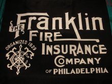 他の写真1: THE FRANKLIN FIRE INS, CO,/TOTE BAG BLACK 1