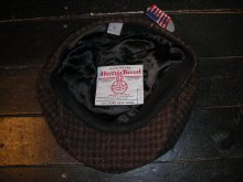 他の写真3: NEW YORK HAT HARRIS TWEED GATBY /BROWN/L