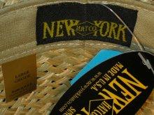 他の写真3: NEW YORK HAT/#2009/SEA GRASS STINGY/NATURAL/LARGE