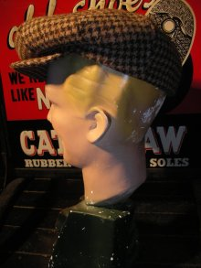 他の写真2: NEW YORK HAT HARRIS TWEED GATBY /BEIGE/L