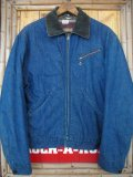 1950'S SEARS BLANKET LINED DENIM WORK JACKET